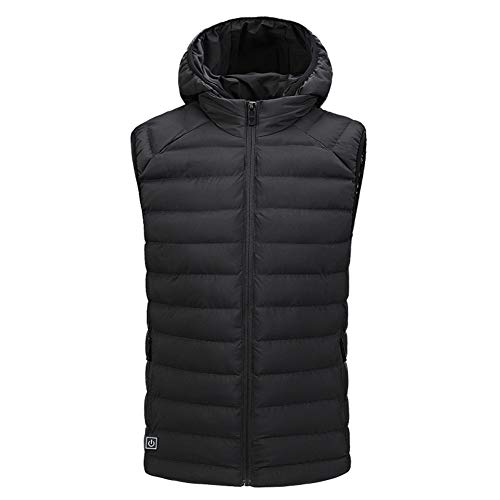 31TzjTehvGL. SS500  - Electric Heated Vest for Women and Men, Unisex USB Charging 3 Adjustable Heating Levels One Button Control Washable Waistcoat for Winter Skiing, Cycling
