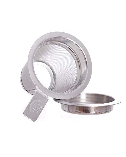 Edelstahlfilter klein Gr. XS, 5 cm, Cha Cult - Dauerfilter Finum Tea Brewing Basket
