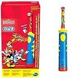 Oral-B Elektrische Zahnbürste Kids Kinder Zahnbürste oszillierend mehrfarbig–(Akku, Eingebaut, 16H, 1Stück (S))