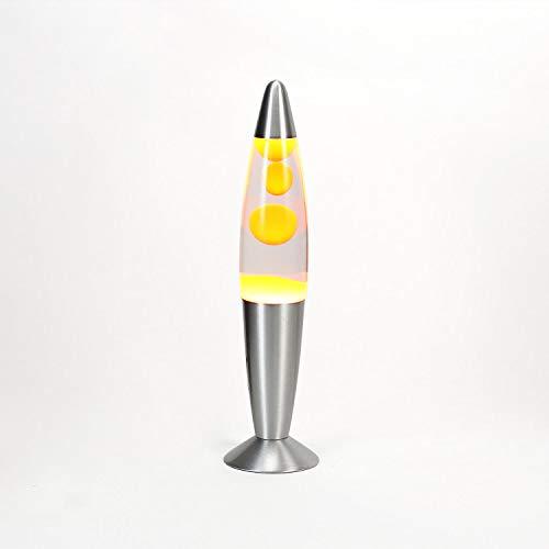 Lavalampe 35cm / Magmalampe Lavaleuchte / Lavalampe orange / Lavalampe Timmy / E14 25W / mit Kabelschalter / Geschenkidee Weihnachten / inklusive Leuchtmittel