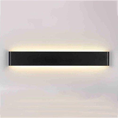 Beleuchtung LED-Spiegel-Scheinwerfer, Aluminium-Wand-Lampe Nachttisch-Lampen-Wohnzimmer Schlafzimmer-Gang-Badezimmer-Spiegel-vorderes helles modernes ( Farbe : Warmweiß-20w/61cm-B )