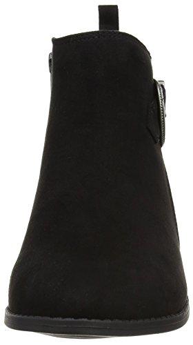 Dorothy Perkins Damen Mary Western Buckle Chelsea Boots Schwarz (Schwarz)