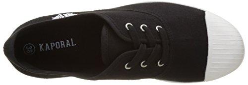 Kaporal Ulrika, Baskets Basses Femme Noir (Noir)