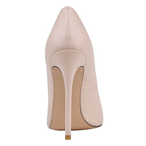 MERUMOTE , Chaussures à talon fin femme - Nackt-Matte