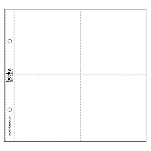 Project Life - 8x8 Scrapbooking Photo Pocket Pages Test