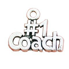 Coach Charms Antique Silver Tone Number One - 8 Charms by Unbranded* - Number One Charm