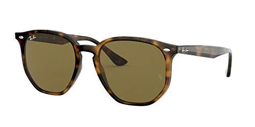 Ray-Ban Unisex-Erwachsene 0RB4306 Sonnenbrille, Braun (Havana), 54.0