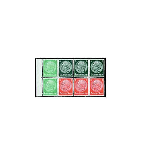 Goldhahn Deutsches Reich Markenheftchenblatt Nr. 92 postfrisch ** Hindenburg 5+6+8 Pfennig Briefmarken für Sammler