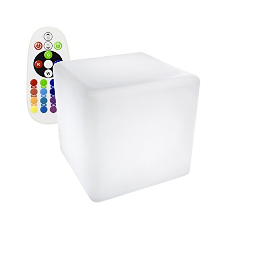 Cubo LED RGBW 30cm Recargable efectoLED
