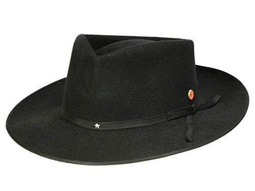 Mayser Homme Chapeau Fedora Udo noir