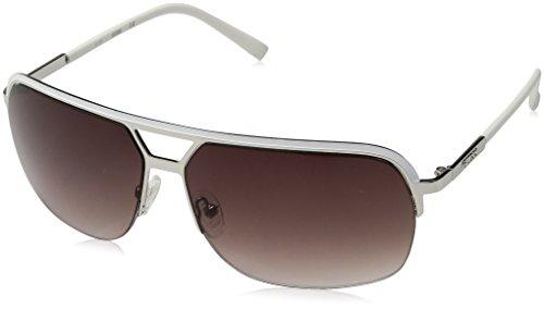Guess Unisex-Erwachsene GF015924B65 Sonnenbrille, Silber (Argento), 65