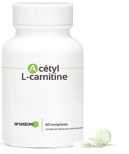 Acétyl L-CARNITINE * 500 mg / 60 gélules végétales * Pureté garantie supérieure à 99 % * Réel carburant pour les cellules des muscles et du système nerveux * Fabriqué en FRANCE * Qualité contrôlée par certificat d'analyse * 100% satisfait ou remboursé