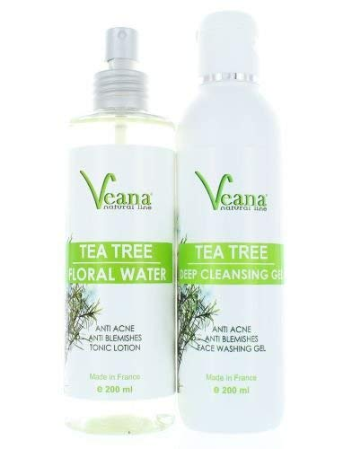 Anti Acne Deep Cleansing Face Wash + Tea Tree Floral Water