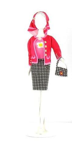 Jacky Pied de poule : fabriquez les habits de vos poupées mannequins ... la plus belle des Barbie, ce sera la votre !