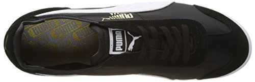 Puma Unisex-Erwachsene Roma OG Nylon Low-Top, 40 EU Schwarz (puma black 01)