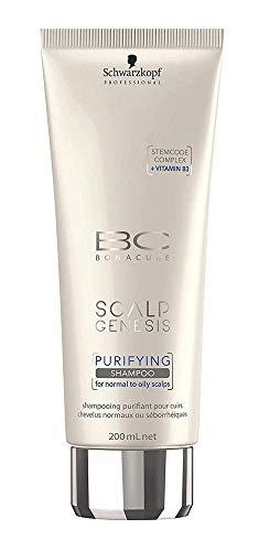 Schwarzkopf Professional BC Scalp Genesis Purifying Shampoo, 1er Pack (1 x 200 ml) - Purifying Shampoo