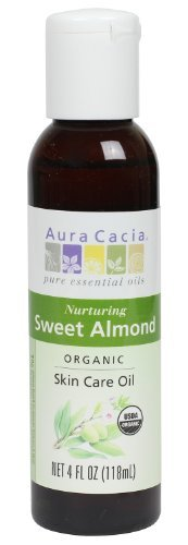 Aura Cacia Organics Skin Care, Sweet Almond 4 fl oz by Aura Cacia