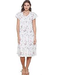 52c06f4749 Amazon.co.uk  Cotton Real - Nightdresses   Nightshirts   Nightwear ...