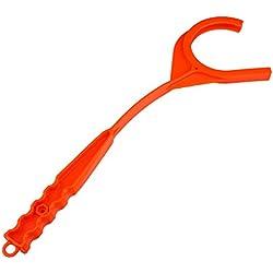 Forfar Tactical Handheld al aire libre Lanzador de mano Clay Target Arcilla Objetivo Lanzador Accesorios para Disparos P
