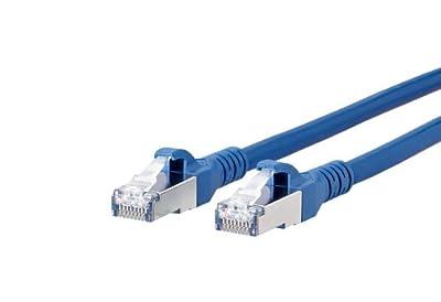 BTR 1308455044-E Patchkabel Cat.6A 10Gbit 500MHZ Pimf S/FTP 5 m, blau