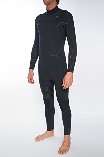 40e393af89422 Hurley Wetsuits - Hurley Advantage Max 4 3mm 2018 Chest Zip Wetsuit - Black