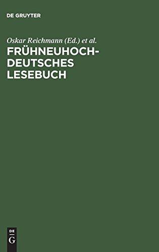 Frühneuhochdeutsches Lesebuch