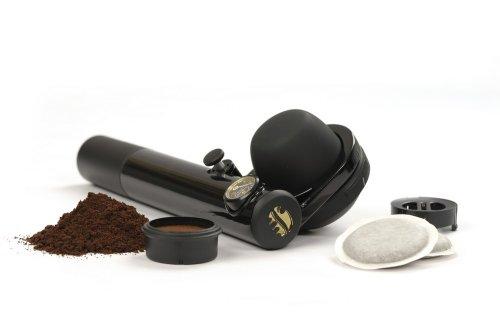 Handpresso 48238 Machine à Expresso Portable dosette ESE ou café moulu Noire image 1