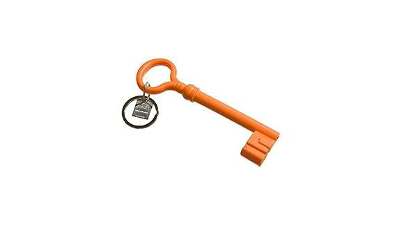 /Key Keychain orange//Silicone Porte-cl/és Orange Areaware/