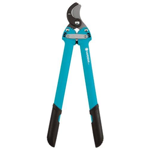 GARDENA Comfort Astschere 500 AL: Baumschere für hartes und trockenes Holz, auswechselbarer Amboss, max. Ast-Ø 35 mm, 50 cm Länge, patentiertes Zahngetriebe für 38{0f20fe2dfc3b5ed781e0186b3c26675c13424387008c051ba77bb34af7081e61} mehr Schneidkraft (8771-20)