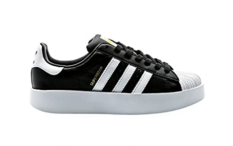 adidas Superstar Bold W Black White Gold