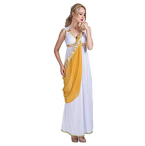 e ägyptische Kleider Kostüm Cosplay Für Halloween Weihnachten Karnevalsfeier Lange Kleider,M ()