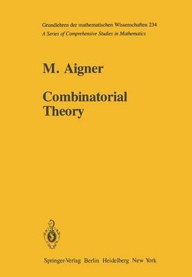 [(Combinatorial Theory)] [By (author) Martin Aigner] published on (April, 2012)
