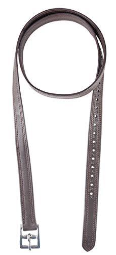 PFIFF 102696 Steigbügelriemen Soft, Leder Riemen Steigbügel, 1 Paar, Braun, 140 cm
