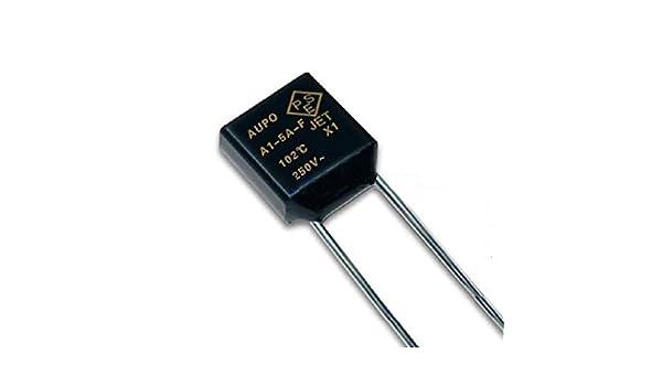 Sicherung thermisch 2A 150°C P7-F Temperatursicherungen
