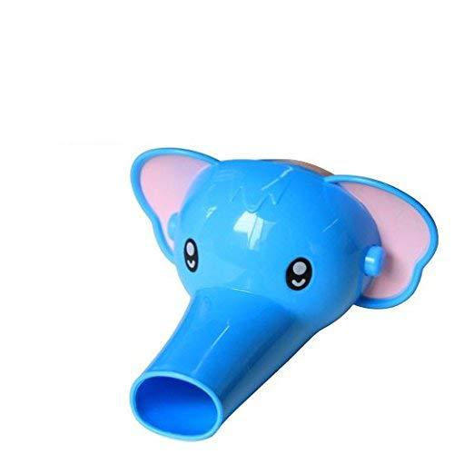 Elephant Cartoon en forme de robinet Extender pour bébés enfants tout-petits Mignon Salle de bains Product Safety extender enfants Robinetterie