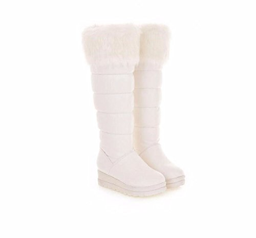 DFW- Weibliche Schuhe Stiefel, Ciabatte da spiaggia donna Bianco