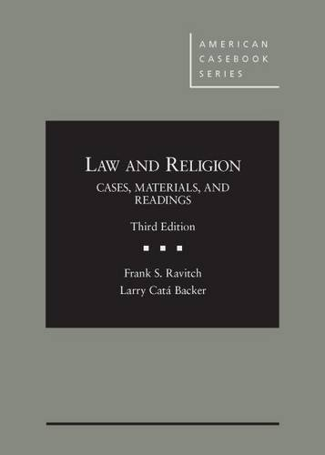 Layer Long Johns (Law and Religion, Cases, Materials, and Readings (American Casebook))