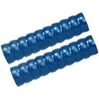 """Loc-line vacío manguera componente, azul tapa copolímero, 2–1/2""""ID, 2x 12cm de largo segmentos (18elementos total)"""