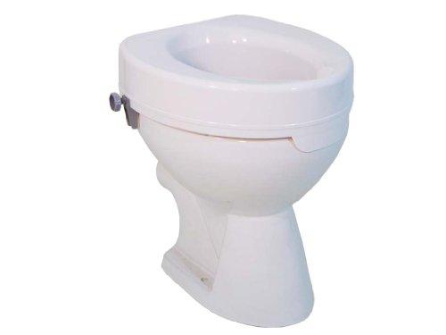 Drive Medical ohne Deckel, Toilettensitzerhöhung Ticco 2G, weiß