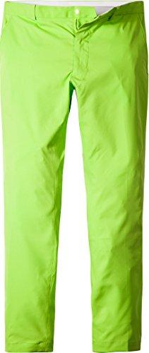 Ralph Lauren Golf Herren Hose Mikrofaser Pant Unifarben, Größe: 34, Farbe: Grün (Hosen Lauren Ralph Stretch)