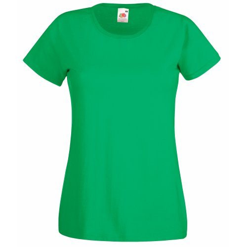 Fruit of the Loom Lady-Fit Valueweight T 61-372-0 Kelly Green
