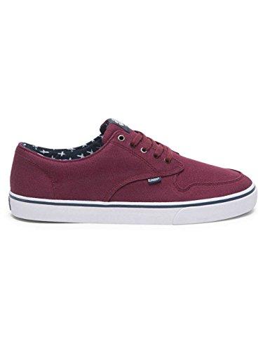 Element Herren Topaz C3 Sneakers Low-Top Napa Red