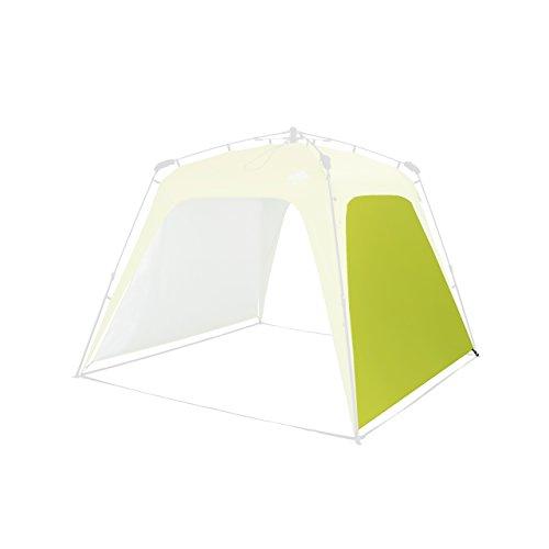 Lumaland Outdoor Seitenteil für Pop Up Pavillon Seitenwand für Gartenzelt Camping Partyzelt Zelt grün -