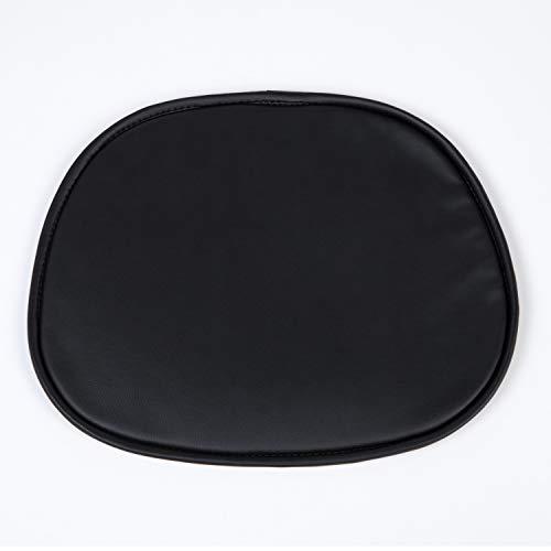 SKLUM Cojín Silla Scand Polipiel Negro - Elige Color