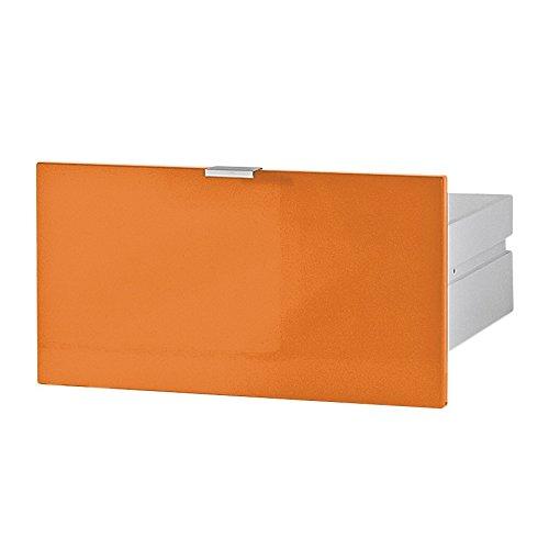 Germania 3456-185 Schubkasten für Kommode/Sideboard Colorado in Orange Hochglanz, 48 x 25 x 37 cm (BxHxT)