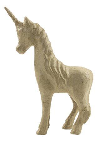 décopatch Mache Unicorn, 16 x 6 x 21 cm, Brown