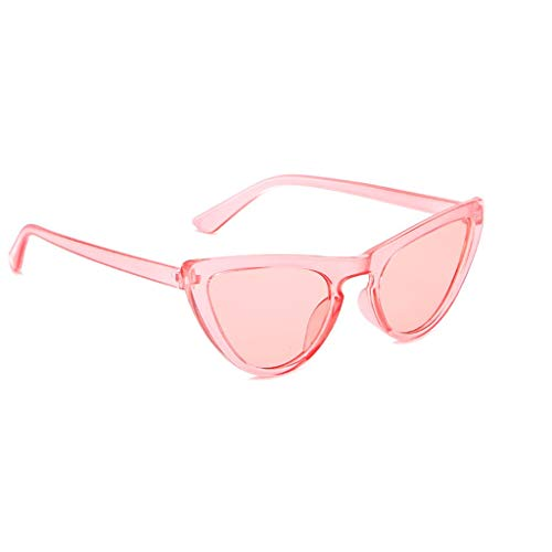 Igemy Damen Cat Eye Sonnenbrille Katzenauge Rahmen Mode UV-Schutz 7 Farben (B)