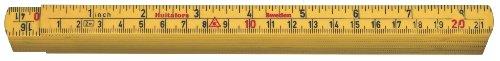 Hultafors Glasfasergliedermassstab G59 -mm / Zoll, 2 m, G61-2-10, 200404