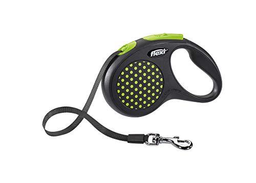 flexi Design S Gurt 5 m grün für Hunde bis 15 kg