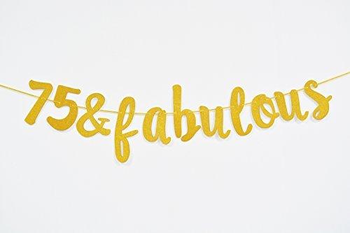 Firefairy 75 & Fabulous Cursive Spruchband
